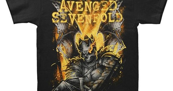 Avenged Sevenfold-Shepherd 2014 Tour-Black T-shirt