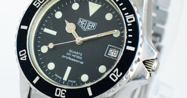 Tag Heuer Professional 200 Meters Ref 980 013 Rare EBay Watches