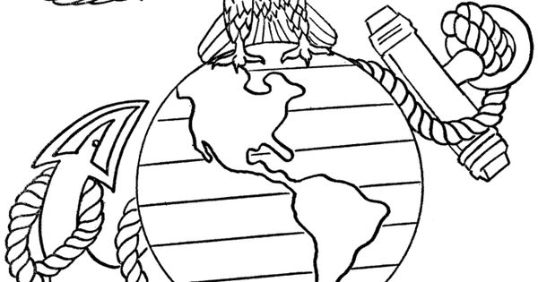 marine corps coloring pages veterans day pinterest crafts