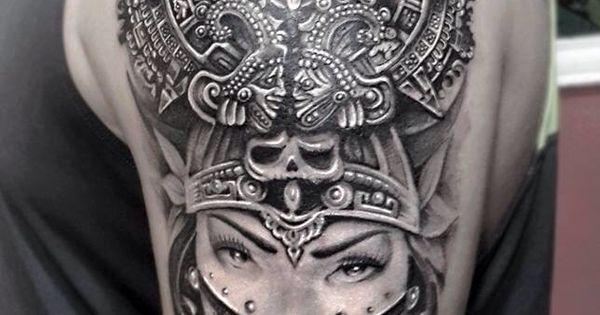 Mayan callendar tattoo umutal art works hand jop for Turkish mafia tattoos
