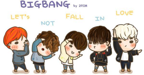 Fanart Bigbang Let S Not Fall In Love Dengan Gambar