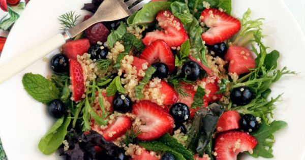 Great Daniel Fast Recipe - Blueberries with Strawberry and ...