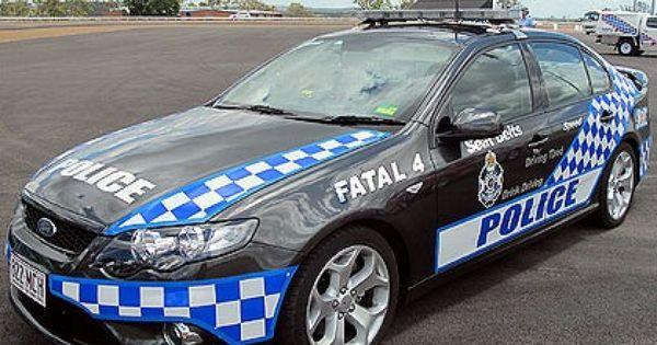 Queensland Police Australia Ford Bf Xr6 Turbo Highway Patrol
