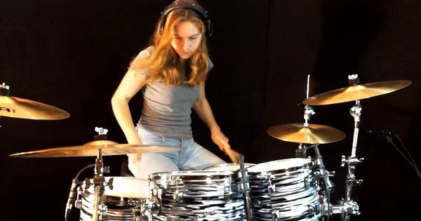 Can T Stand Losing You The Police Drum Cover By Sina Female Drummer Drum Cover Drums