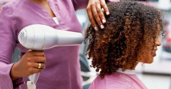 How To Blow Dry Natural Hair Without Suffering Heat Damage Natural Hair Styles Blow Dry Natural Hair Black Hair Care
