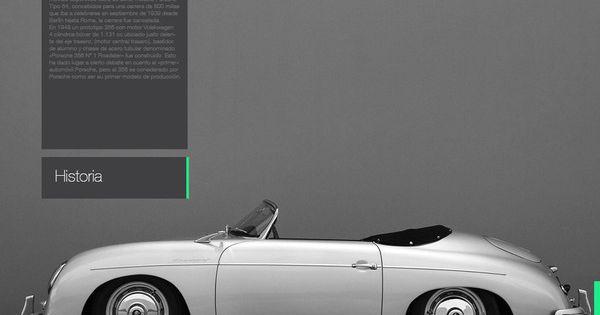 Porsche 356 Speedster interactive book by Martin Liveratore webdesign web design, design,