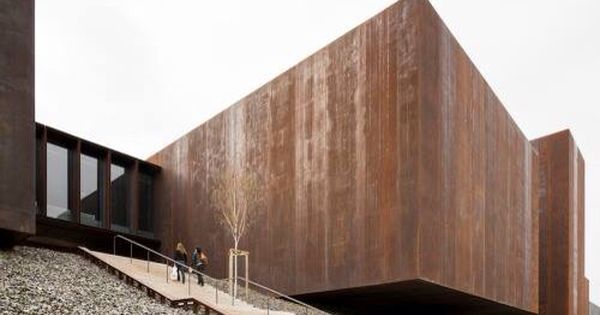 soulages museum rcr arquitectes d pinterest museums architecture and facades. Black Bedroom Furniture Sets. Home Design Ideas