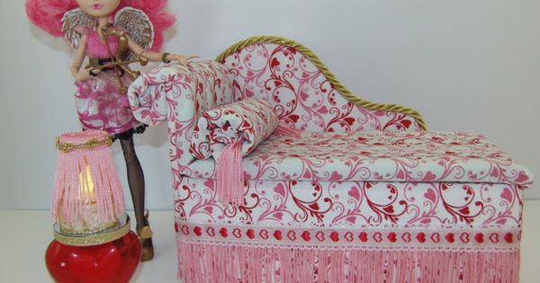Furniture For Ever After High Dolls Handmade Chaise Lounge