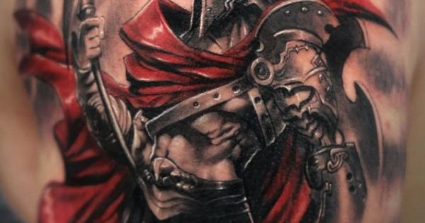 Ares Greek God Of War Tattoo Hoplite