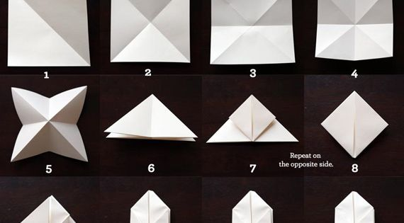 Paper Cube Lights that can start filling in the spaces between my