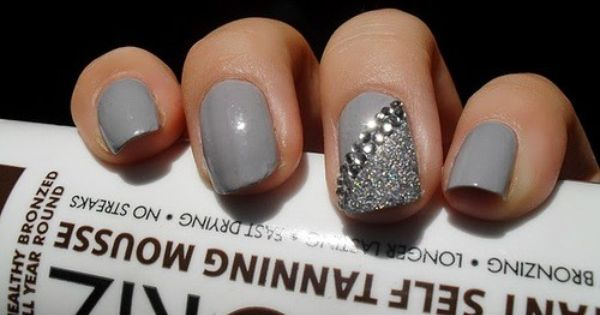 grey nail art   nail designs amp nail art halloween nail