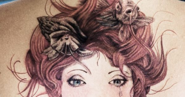 red hair, tattoos and little mermaids. tattoo tattoos ink