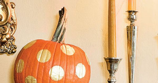 5 Easy Way to Decorate Pumpkins: Paint Them - 8 Easy Pumpkin
