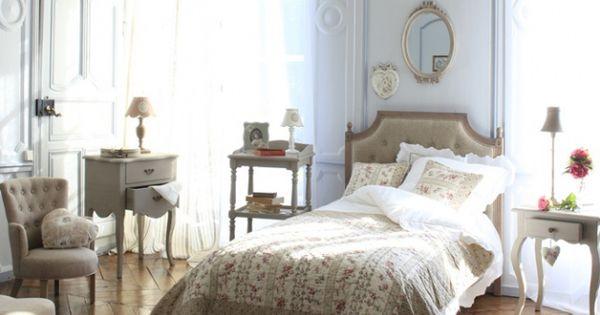 Chambre style gustavien meubles romantiques  style chambre parent ...
