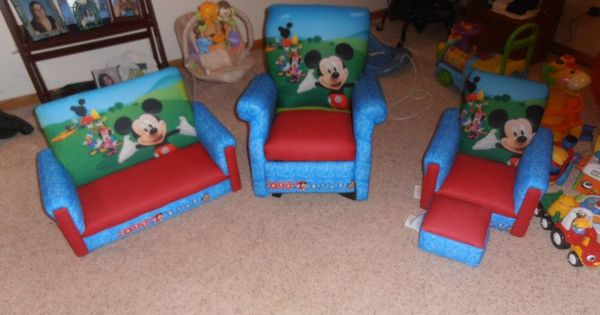 My Sons Mickey Mouse Clubhouse Furniture Includes Sofa