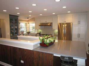 Opening This Floorplan Led To A Creative Approach To The Basement   Basement Stairs In Kitchen   Ranch   Both Side   Dining Room   Open Concept   Galley