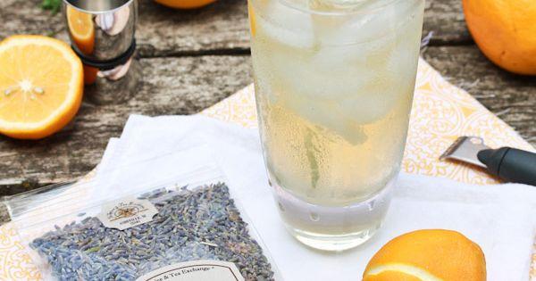 Lavender Meyer Lemon Tom Collins Cocktail | Recipe | Tom collins ...