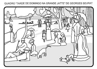 O Ponto Georges Seurat Obras De Van Gogh