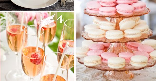 10 Pink Party Foods + Drinks for Girl Baby Shower