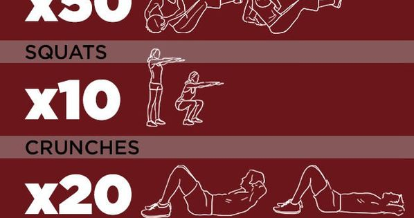 One Song Workout... hmmmm ok I'll do it.