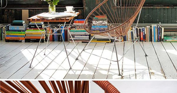 Acapulco chair leather desing objects amp furniture pinterest