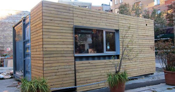 Residential meka design jason halter and christos marcopoulous shipping container with wood - Meka shipping container homes ...