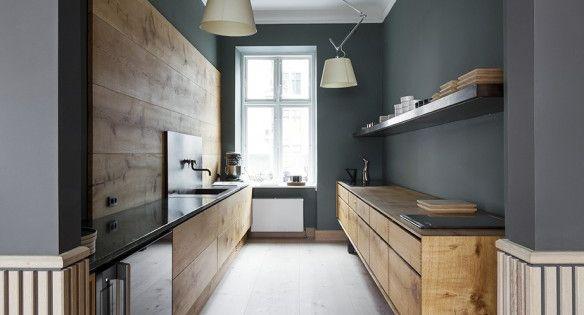 Elegant kitchen space