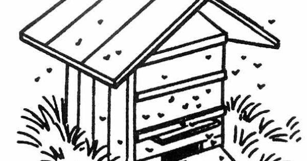 Img dessins pour les enfants ruche abeilles jpg abeille - Dessin de ruche d abeille ...