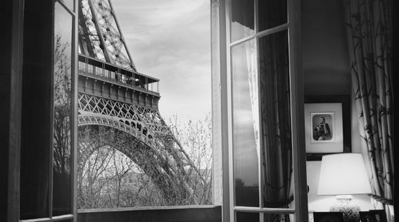 La Tour Eiffel from my bedroom window