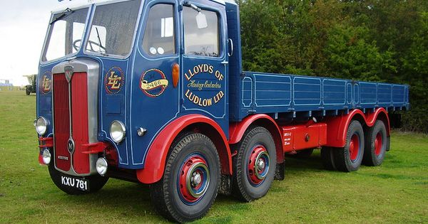 Maudslay Lloyds Of Ludlow Old Trucks Lorries And Vans