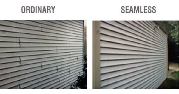 Different Types Of Vinyl Siding Google Search Vinyl Siding Seamless Vinyl Siding Siding Options