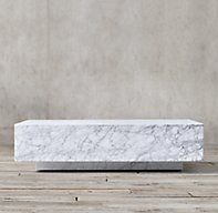 Marble Plinth Coffee Table Marble Coffee Table Restoration Hardware Table Coffee Table