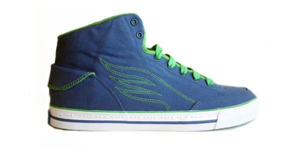 Rhett And Link Shoe Blue