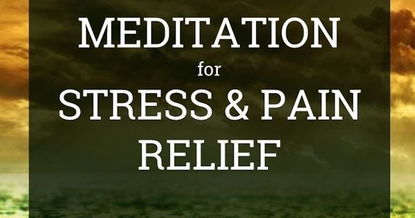 guided buddhist meditation for anxiety and stress