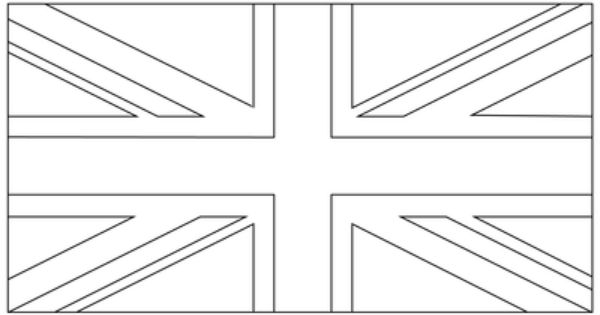 12 Free Printable Templates Union Jack Decor Flag Coloring