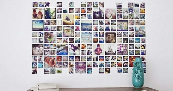 kreative fotowand ideen kim kim pinterest fotowand ideen fotowand und kreativ. Black Bedroom Furniture Sets. Home Design Ideas