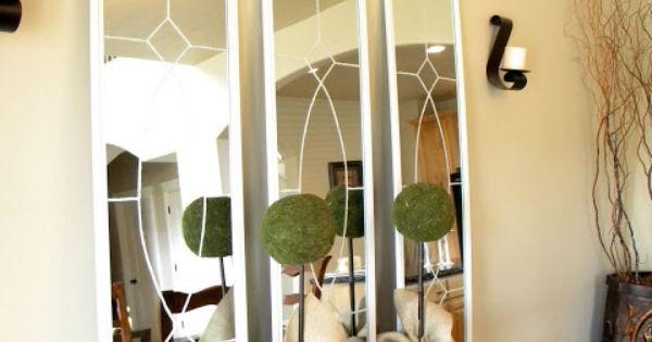 Knock off ballard designs garden district mirrors room for Ballard designs garden district mirrors