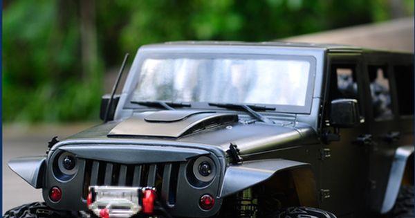 Dc Rc 1 10 For De Jeep Wrangler Rubicon Body Avenger Hood Dc