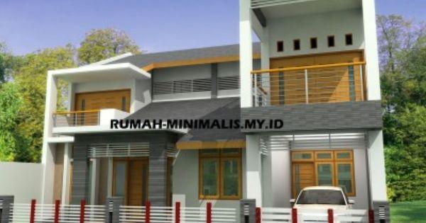 Rumah Minimalis Tingkat 2 Desain Rumah Rumah Modern Rumah Minimalis