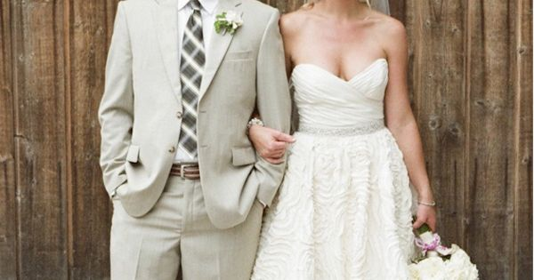 Pretty wedding, love the dress.