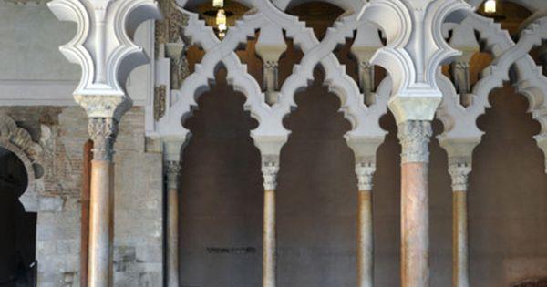 Aljaferia Palace, Zaragoza, Spain. Amazing architecture.