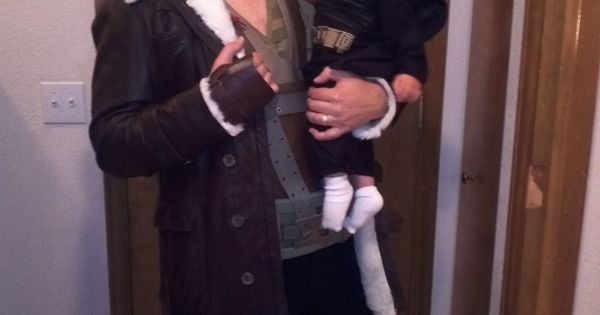 My son and I celebrate his first Halloween…and when it's over, he