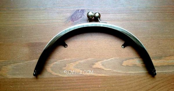 Purse Frame 8 Inch 20 Cm Rounded Purse Frame Antique Brass Finish Glue In Purse Frame Solid Good Quality Metallic Purse Best Fabric Glue Knitting Kits