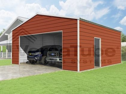 Frontier Garage 24 X 24 X 10 Garage Plans Garage New Homes