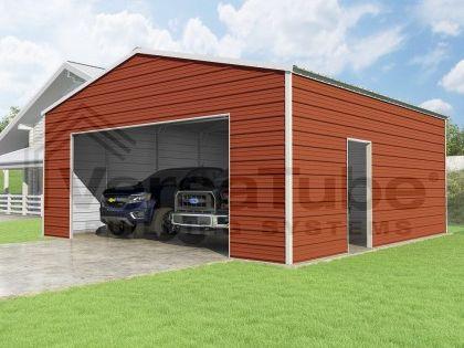 Frontier Garage 24 X 24 X 10 Garage Plans Garage New Homes