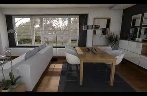 Dise o interior distribuci n sal n cuadrado rectangular - Distribucion salon comedor rectangular ...