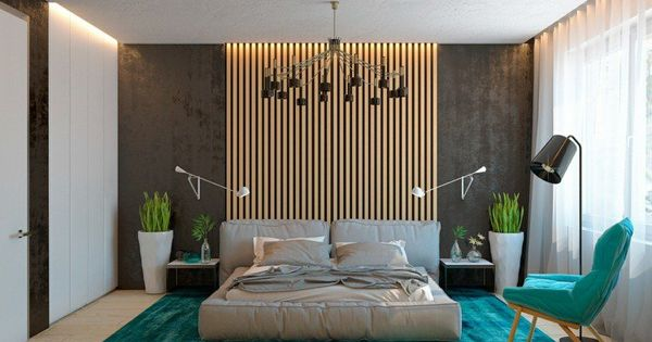 lambris mural design et panneaux d co en lamelles de bois fauteuil turquoise lamelles de bois. Black Bedroom Furniture Sets. Home Design Ideas