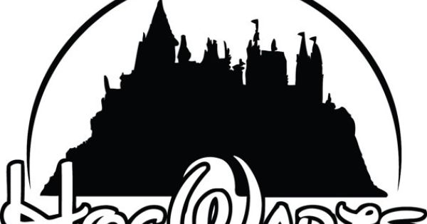 hogwarts harry potter disney school decal sticker tv harry potter pinterest bilderwand. Black Bedroom Furniture Sets. Home Design Ideas