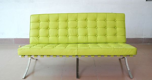 Lime Green Leather Furniture