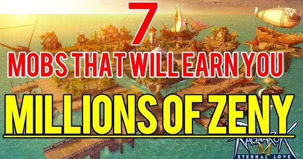 7 Mobs To Earn You Millions Of Zeny In Ragnarok M Eternal Love Sea Eternal Love Love Mob